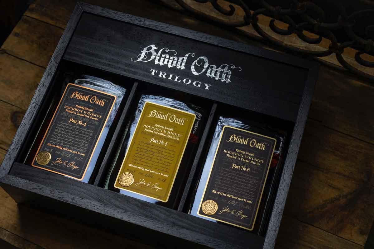 Four Roses 2021: Blood Oath Trilogy