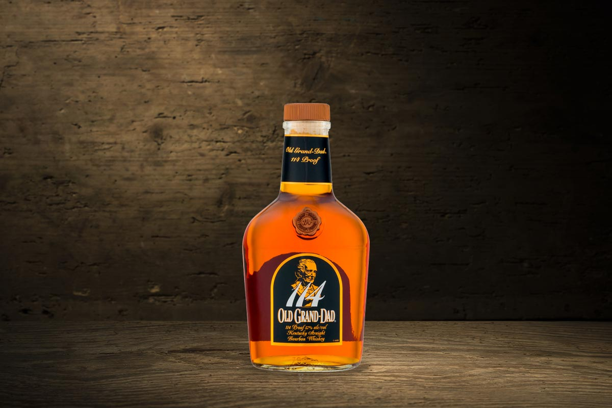 Jim Beam Old Bourbons: Old Grand-Dad 114