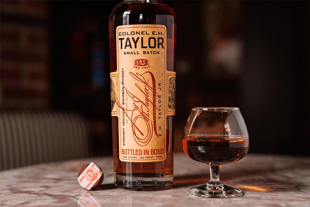 e.h. taylor bourbon: small batch