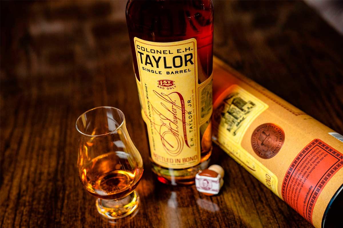 e.h. taylor bourbon: single barrel