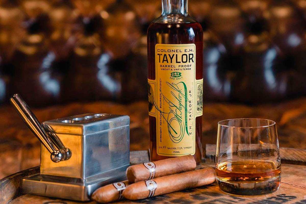 e.h. taylor bourbon: barrel proof