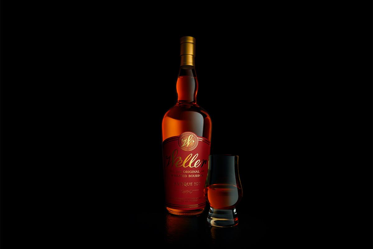 Weller Bourbon Brands: Antique 107