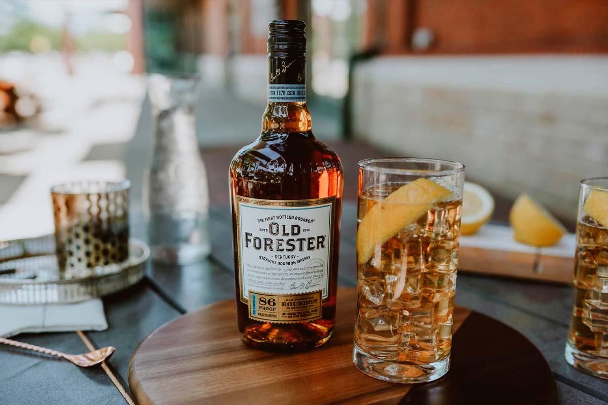 Old Forester Bourbon: 86 Proof