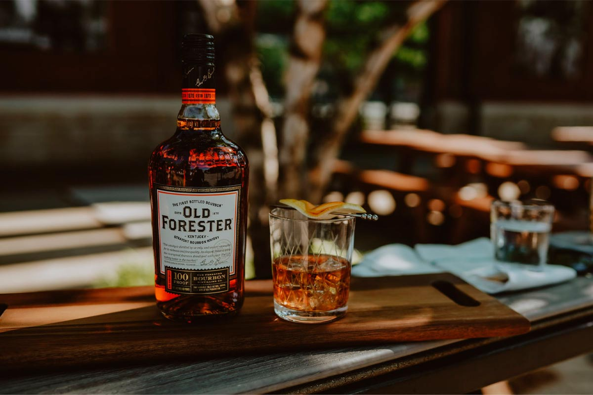 Old Forester Bourbon: 100 Proof