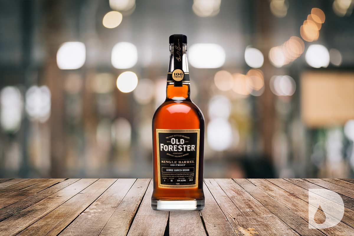 Old Forester Bourbon: Single Barrel 100 Proof