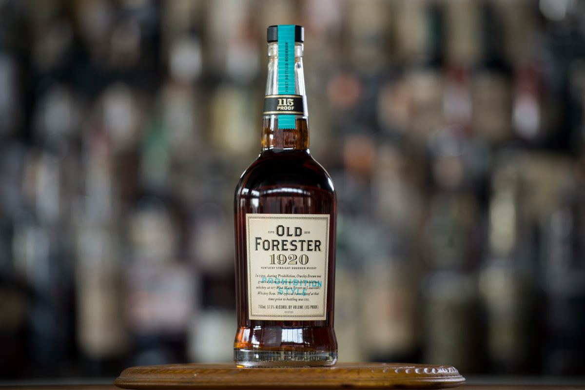 Old Forester Whiskey Row: Old Forester 1920 Prohibition Style