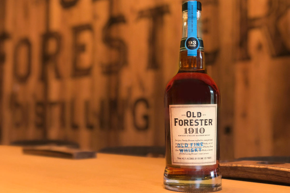 Old Forester Whiskey Row: Old Forester 1910 Old Fine Whisky