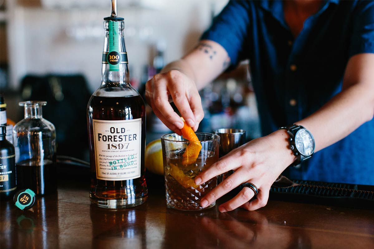 Old Forester Whiskey Row: Old Forester 1897 Bottled in Bond