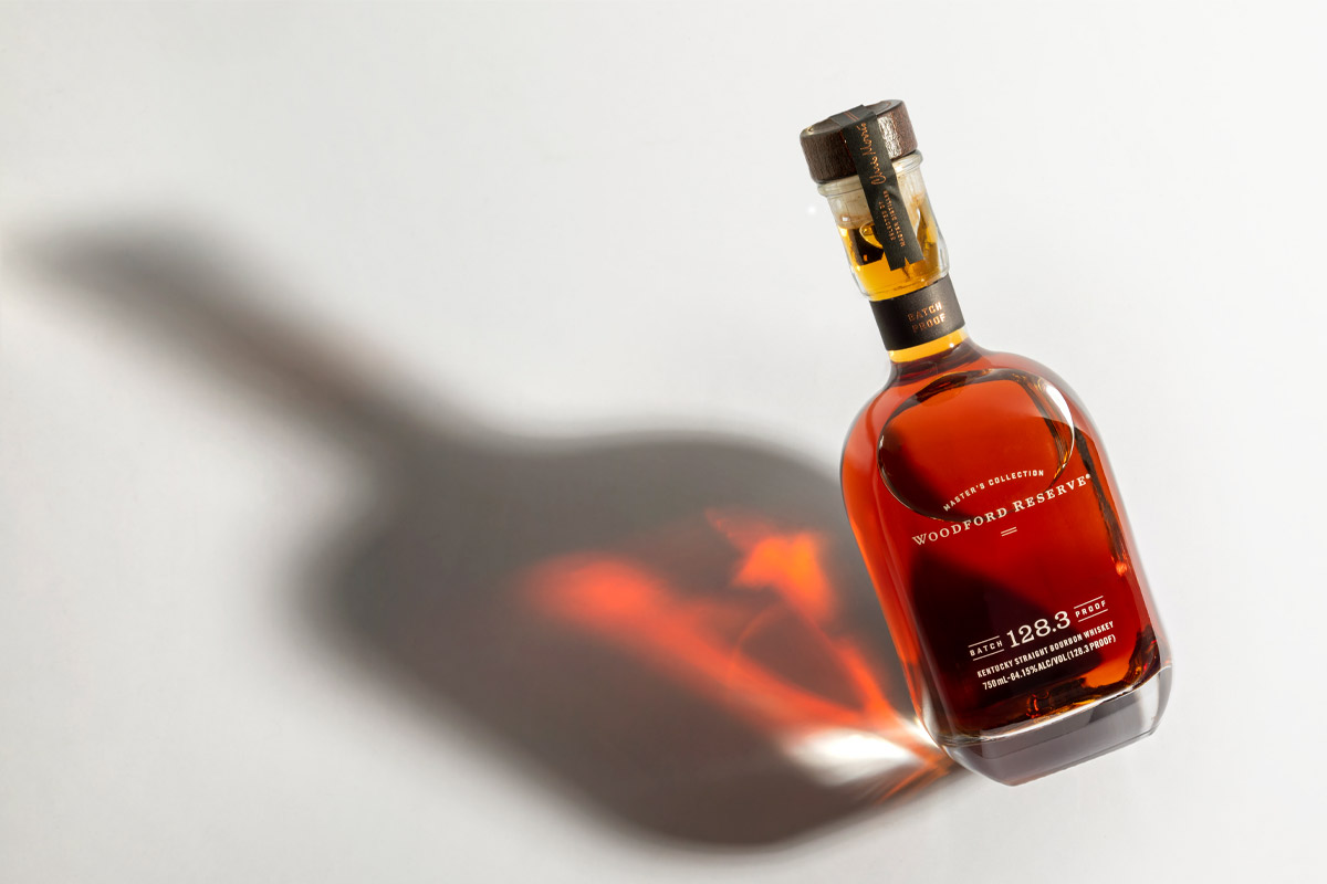 Woodford Reserve Bourbon: Woodford Reserve Master's Collection Batch Proof