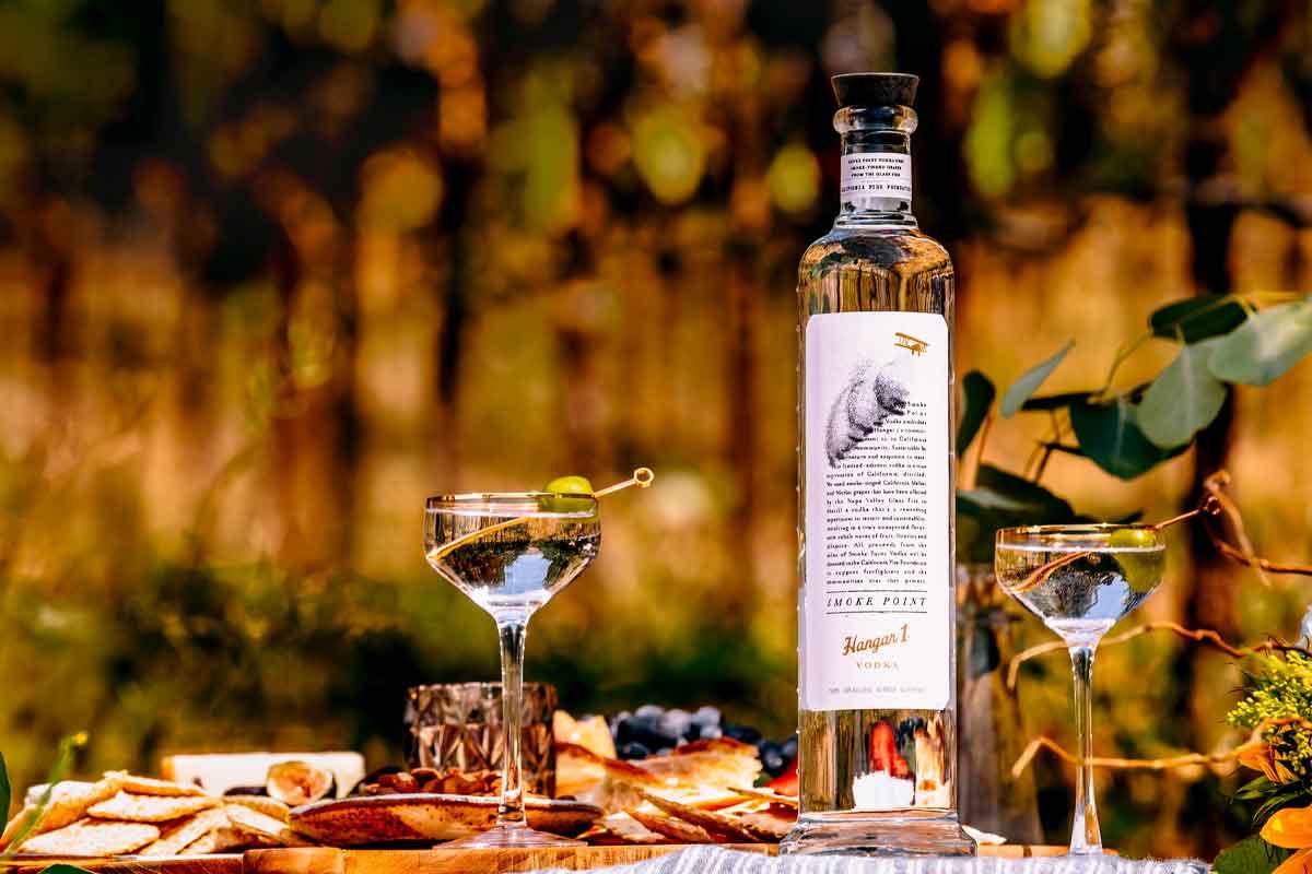 Hudson Whiskey Four Part Harmony: Smoke Point Vodka