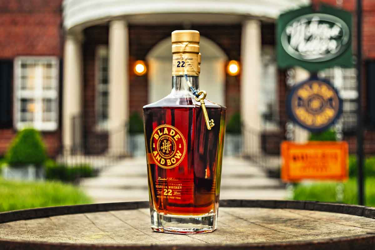 Hudson Whiskey Four Part Harmony: Blade and Bow 22 Year Kentucky Straight Bourbon