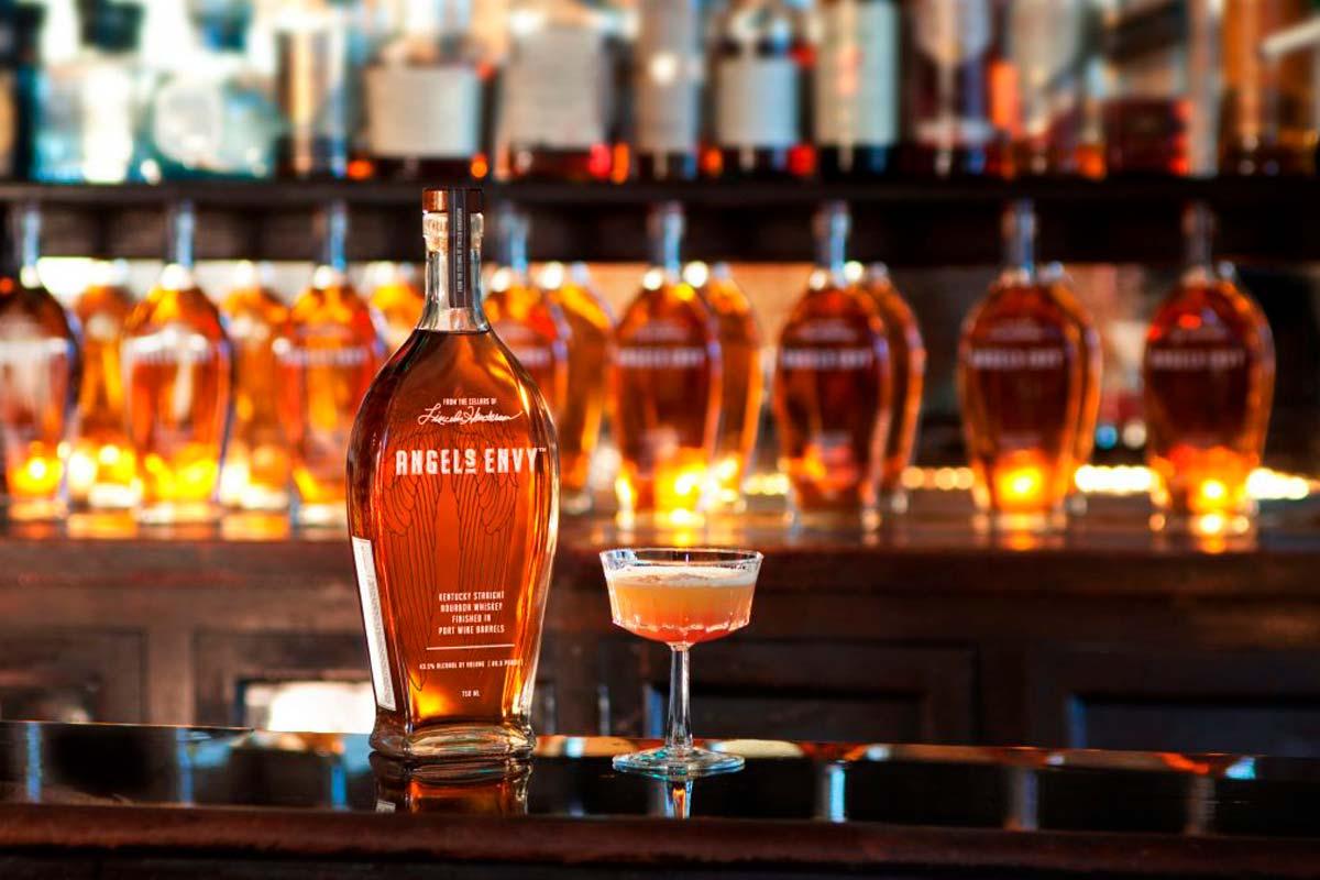 Angel's Envy Bourbon Finished in Port Wine Barrels
