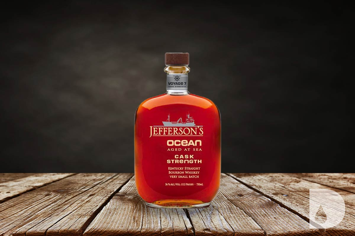 Jefferson's Bourbon: Jefferson's Ocean Aged At Sea