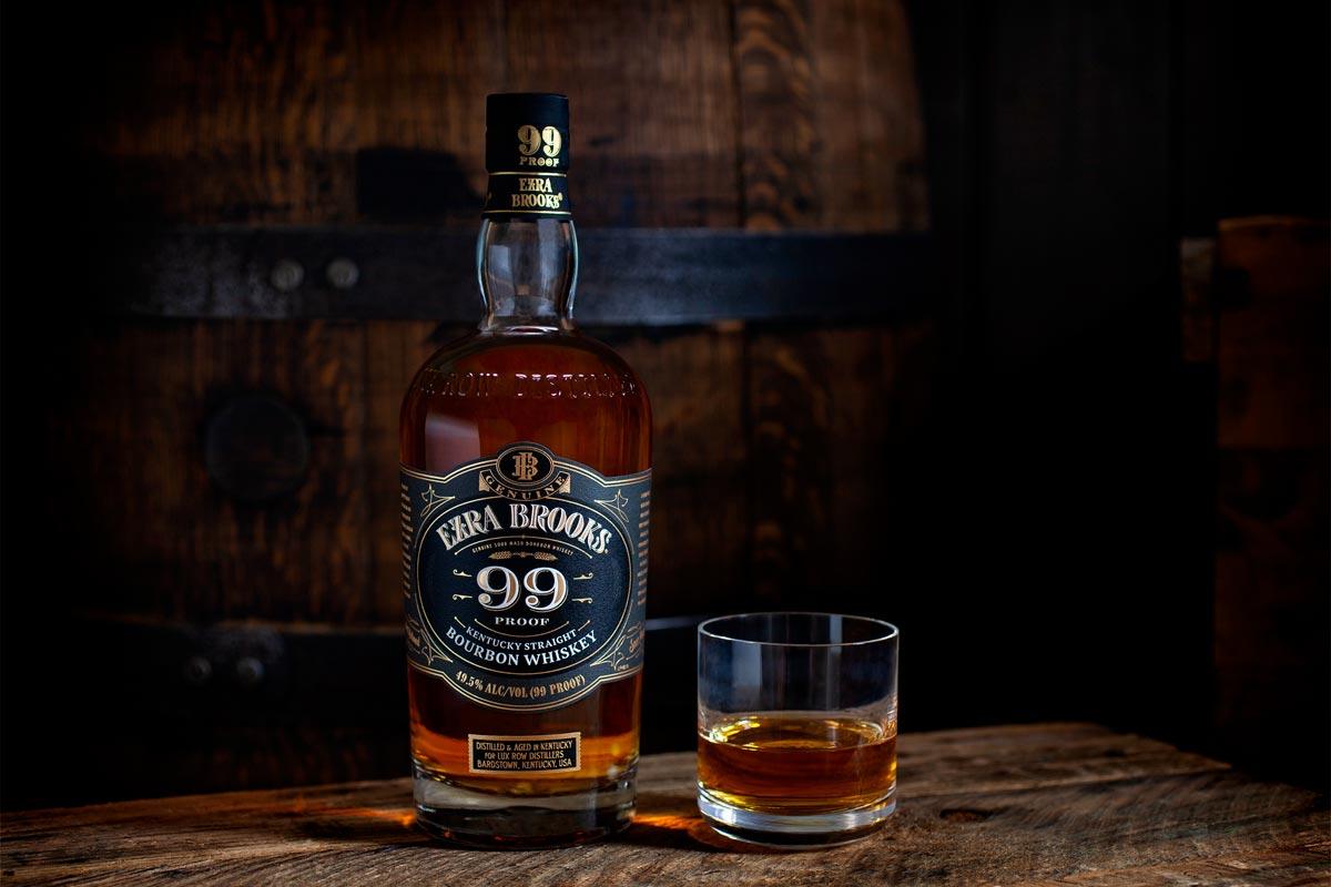 Luxco Bourbon Brands: Ezra Brooks 99 Proof Kentucky Straight Bourbon