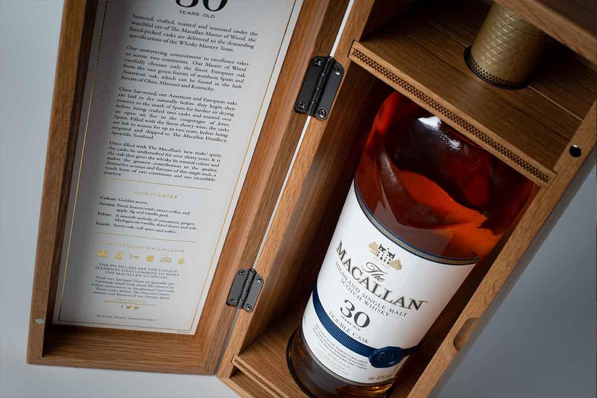 Highland Park Viking Heart: The Macallan Double Cask 30 Year
