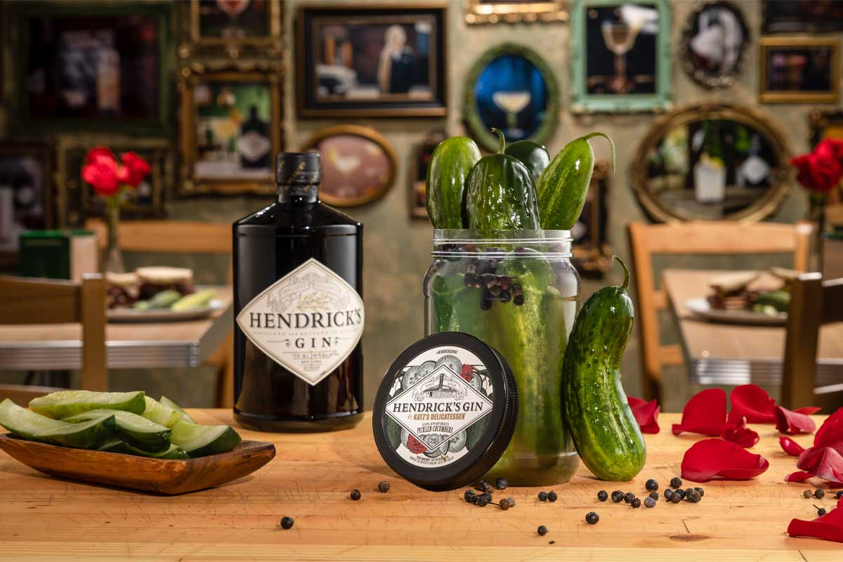 Highland Park Viking Heart: Gin-Inspired Pickled Cucumbers