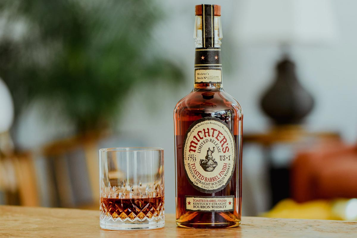Michter's Bourbon: Micther's US*1 Toasted Barrel Finish Bourbon