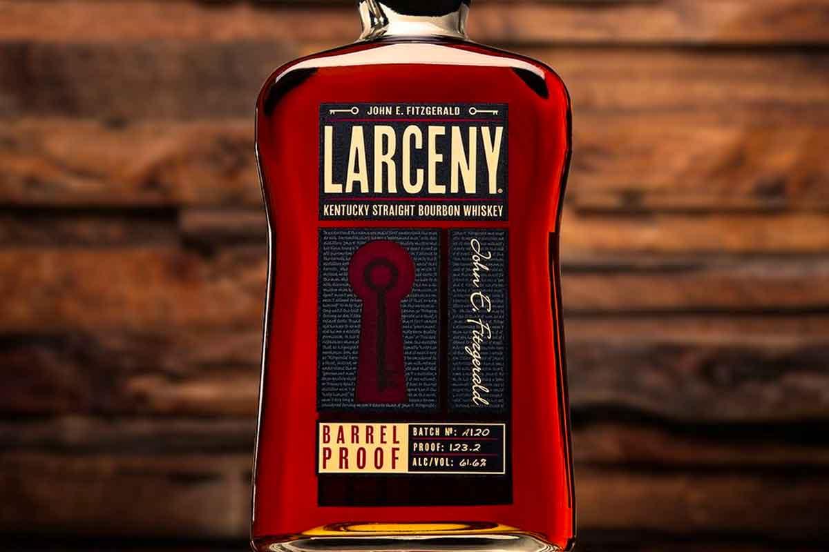 Heaven Hill Bourbon: Larceny Barrel Proof Bourbon