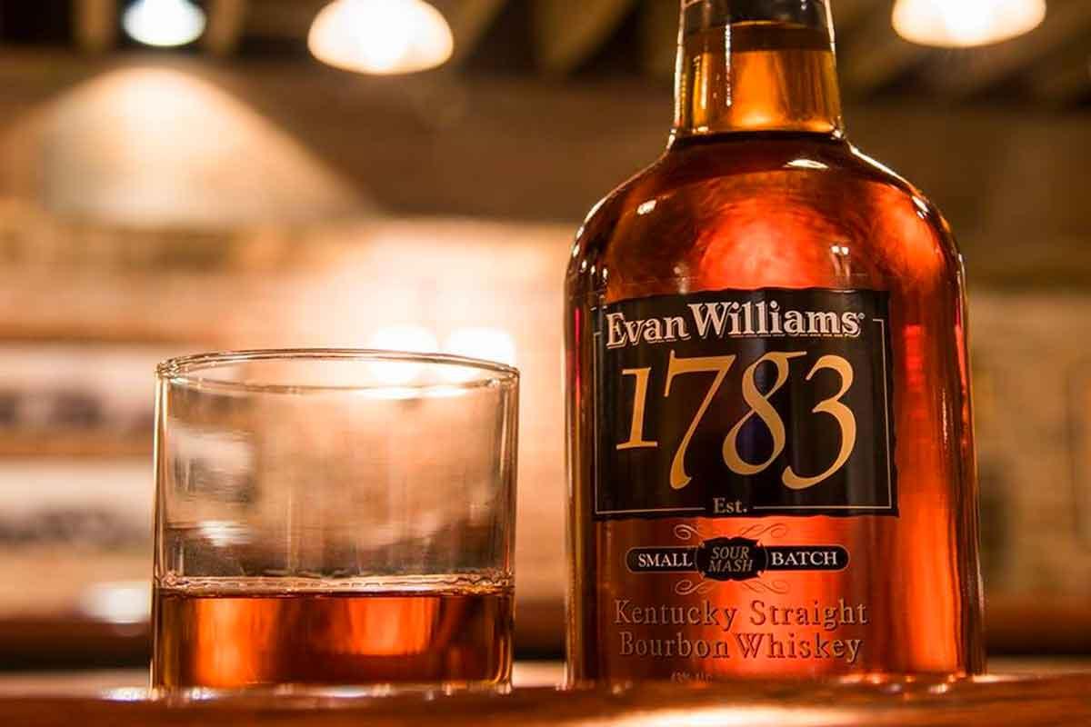 Heaven Hill Bourbon: Evan Williams 1783 Small Batch Bourbon