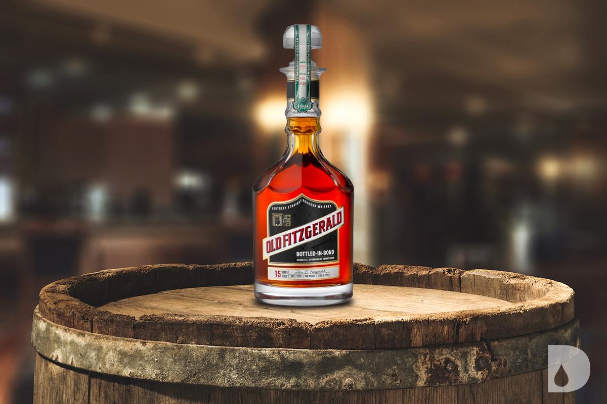 Heaven Hill Bonded Bourbon: Old Fitzgerald Bottled in Bond Decanter Series