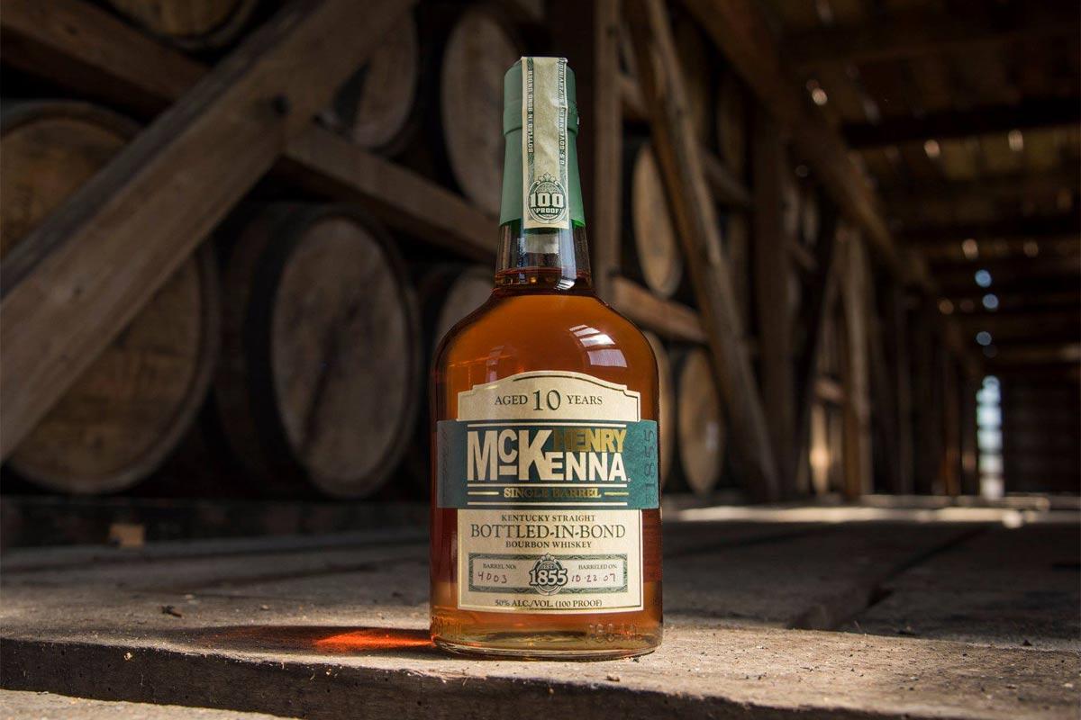 Heaven Hill Bonded Bourbon: Henry McKenna 10 Year Bottled in Bond