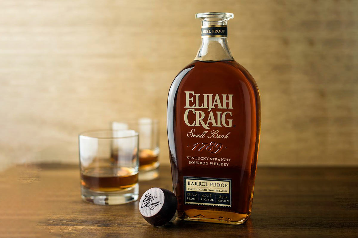 Elijah Craig Bourbon: Elijah Craig Barrel Proof Bourbon