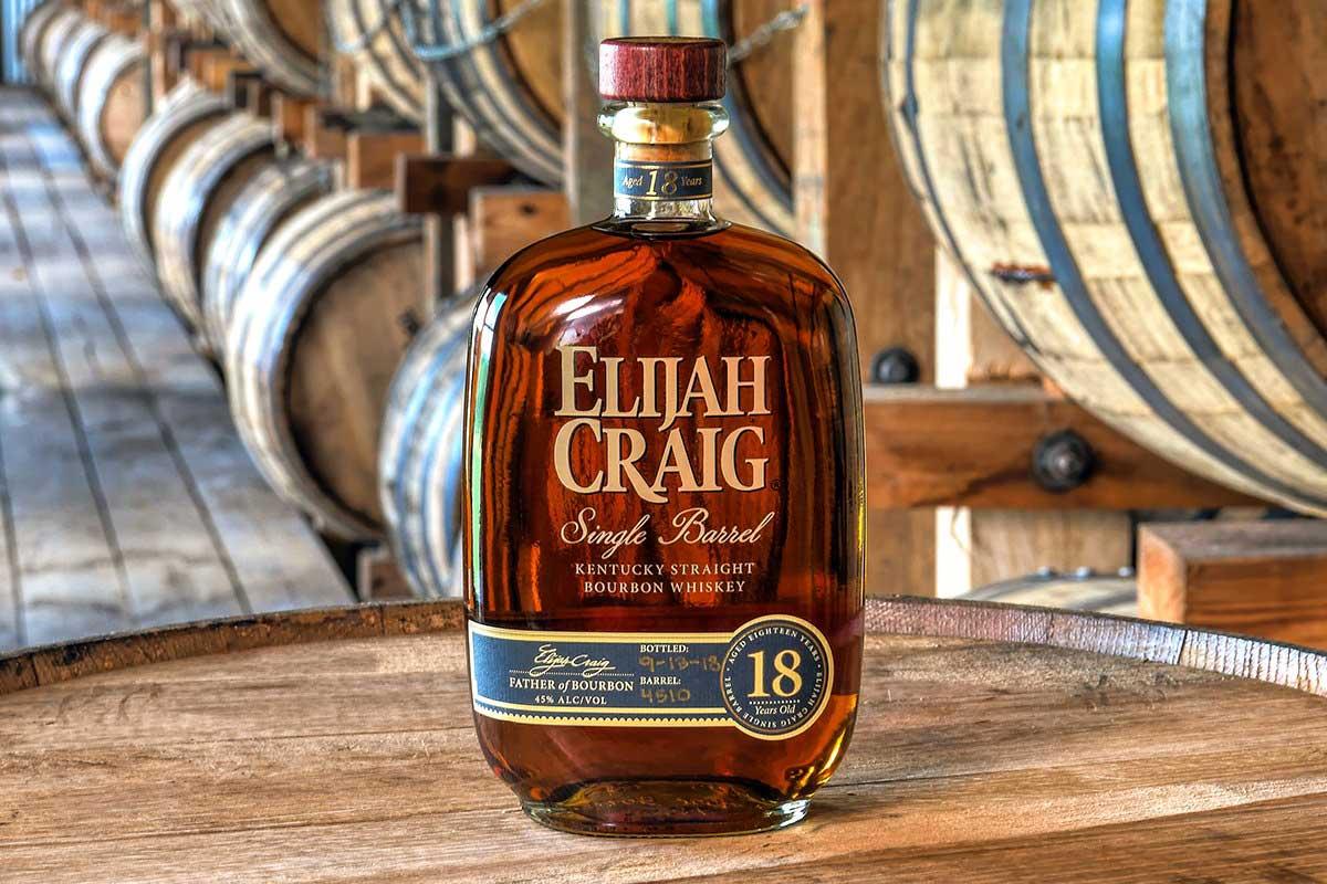 Elijah Craig Bourbon: Elijah Craig 18 Year Bourbon
