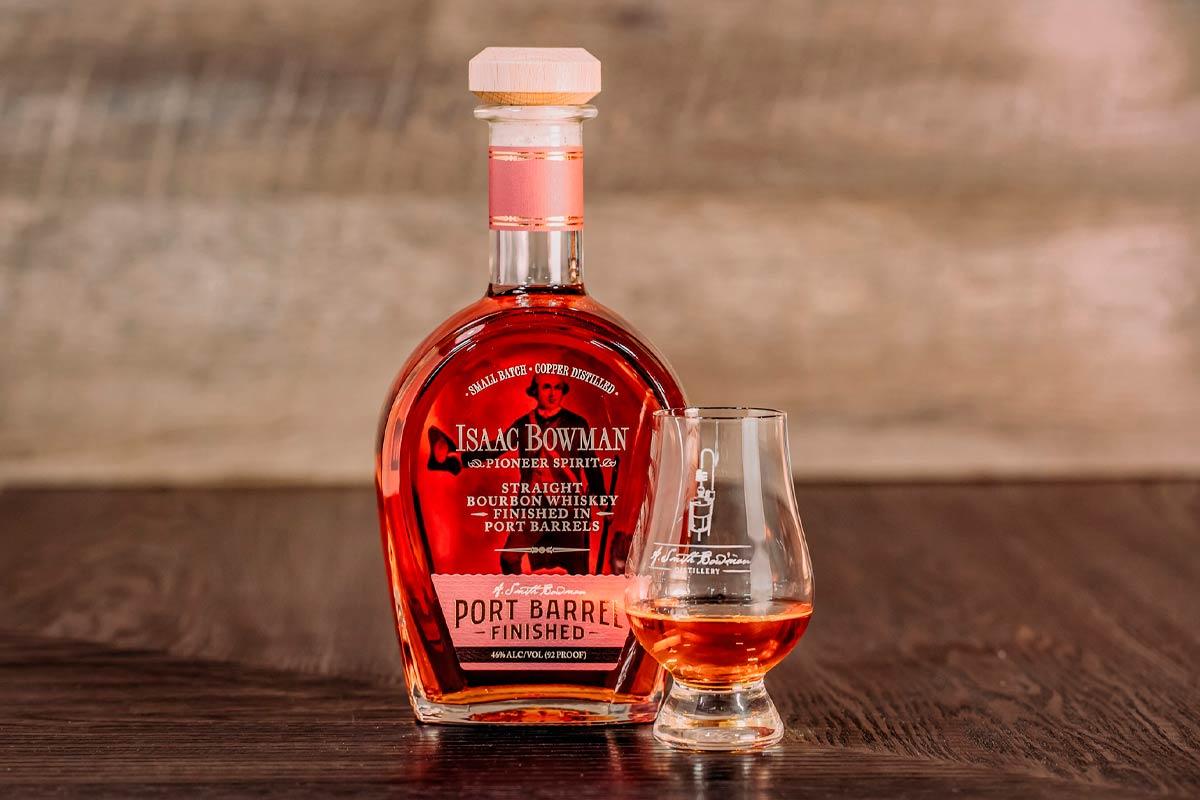 Bowman Bourbon: Isaac Bowman Bourbon Finished in Port Barrels