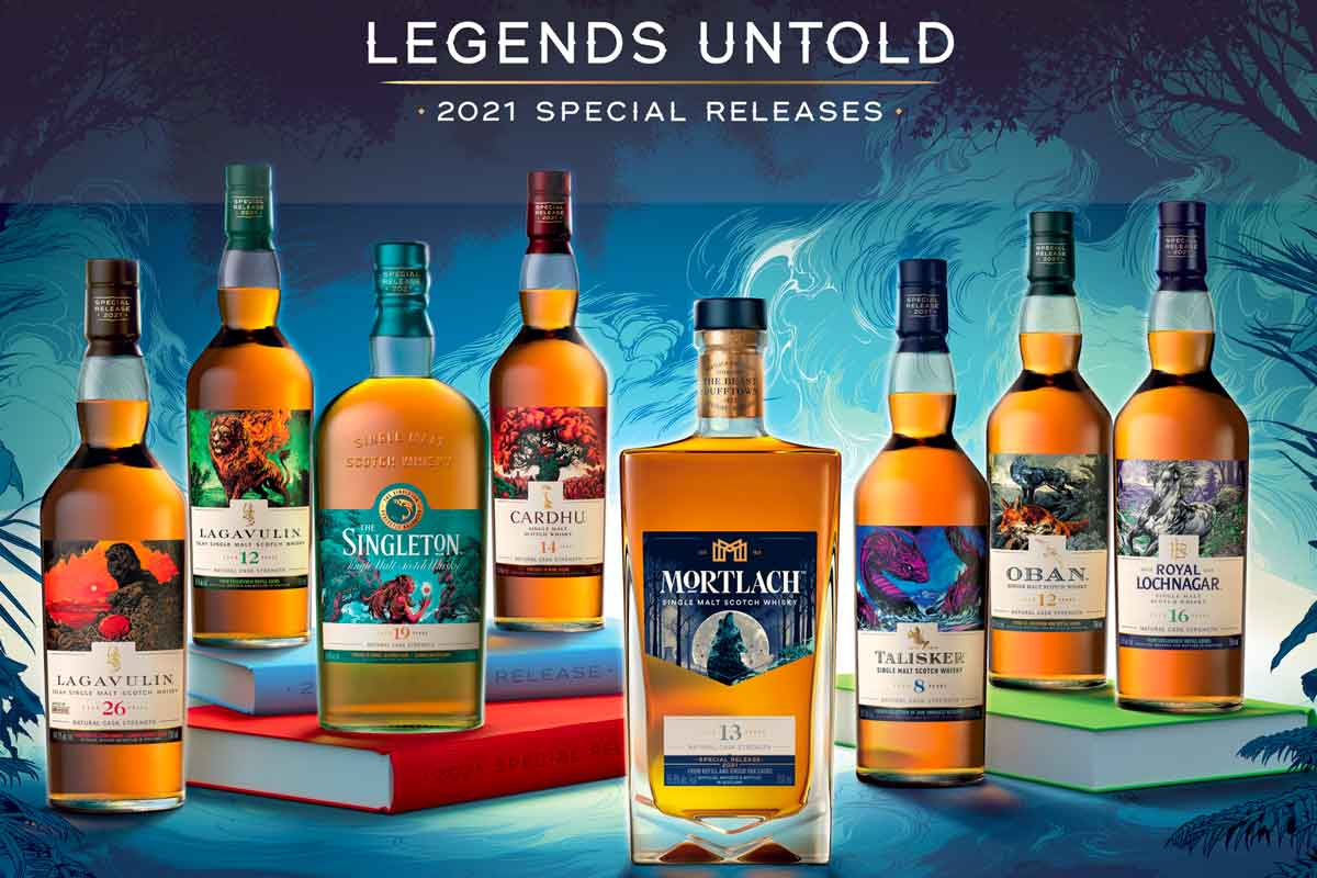 2021 Antique Collection: Legends Untold 2021 Special Releases Whisky Collection
