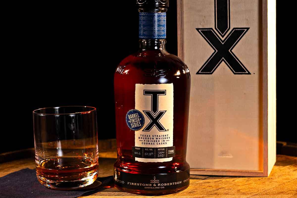 2021 Antique Collection: TX Straight Bourbon Cognac Cask Finish