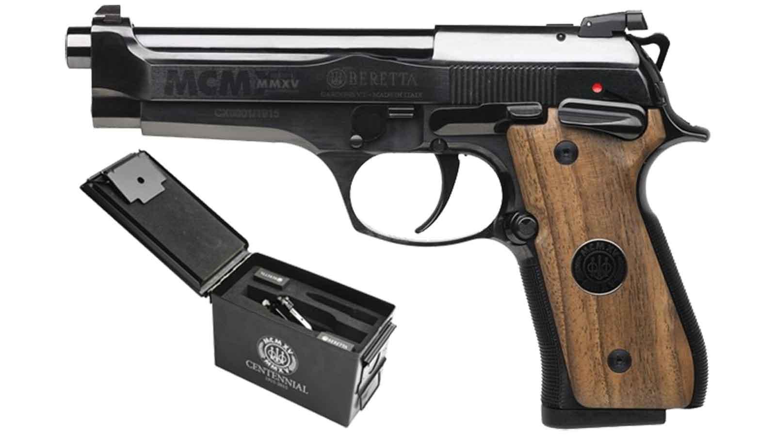 Beretta 92 Centential 9Mm 4.9
