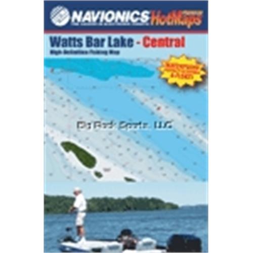 NAVIONICS Paper Map TN Watts Bar Lake Bundle