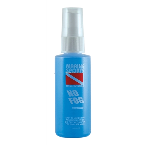 MARINE SPORTS No Fog Concentrate Pump Spray 2 Ounce In Clam Shell Pack