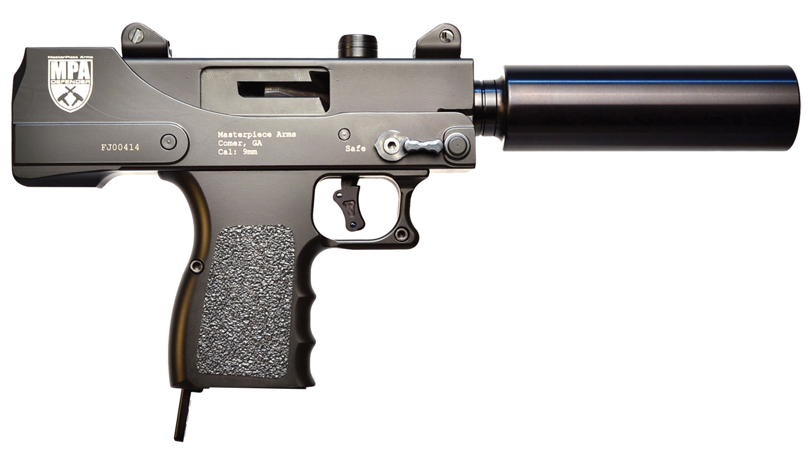 Masterpiece Arms 9Mm Mini Pistol W/30Rd Mag
