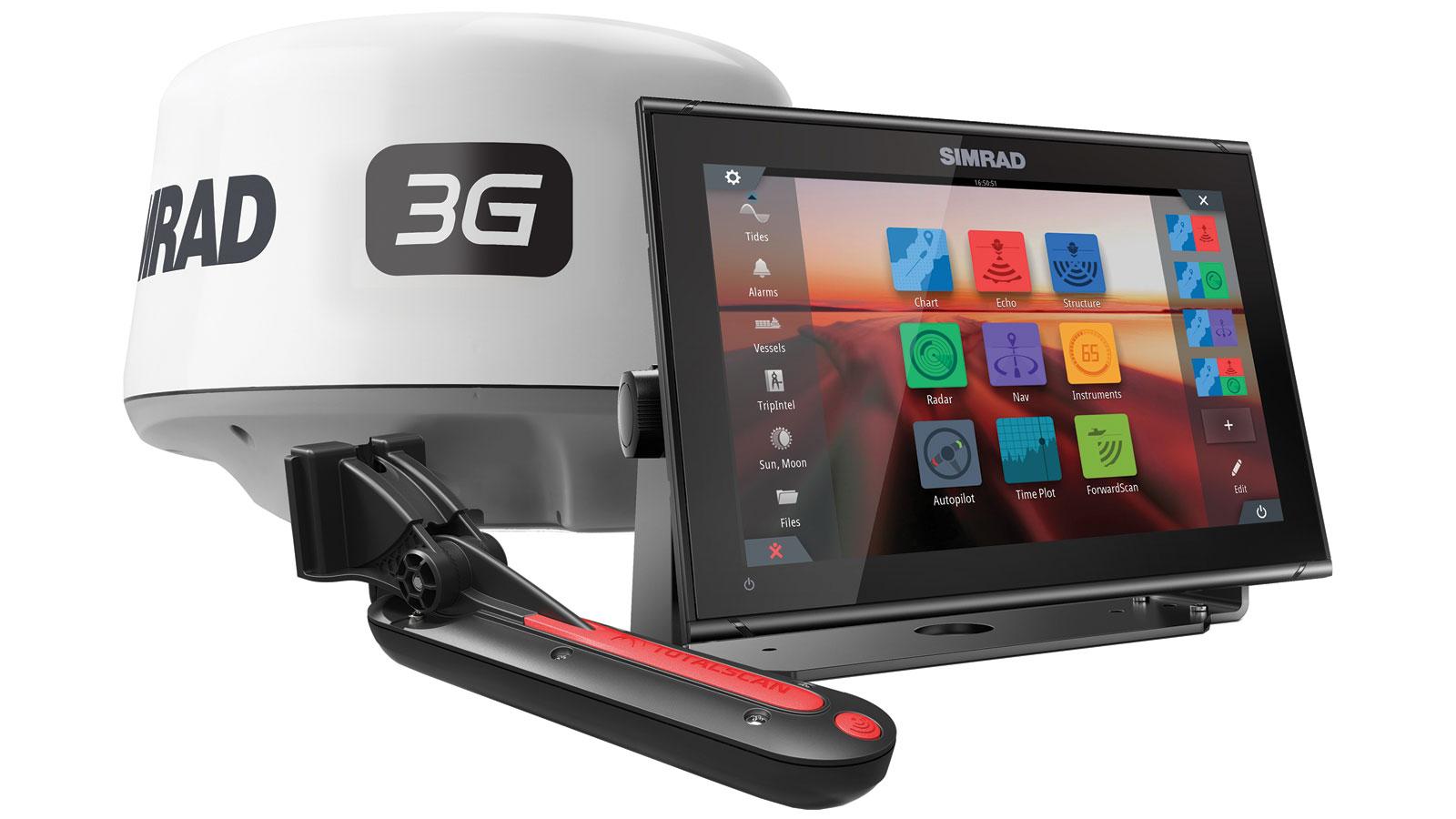 SIMRAD GO12 TOTALSCAN W/3G RADAR