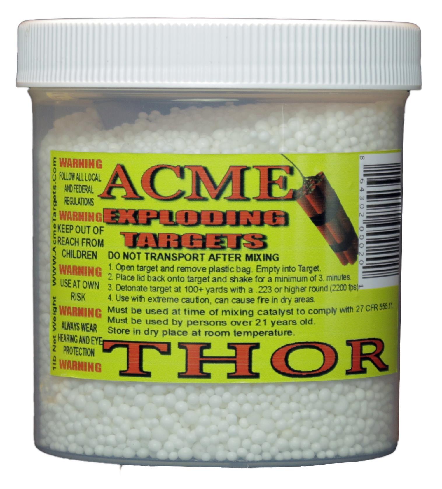 4107a7cb068 Acme THOR Thor Exploading Binary Target 24 1 Lb