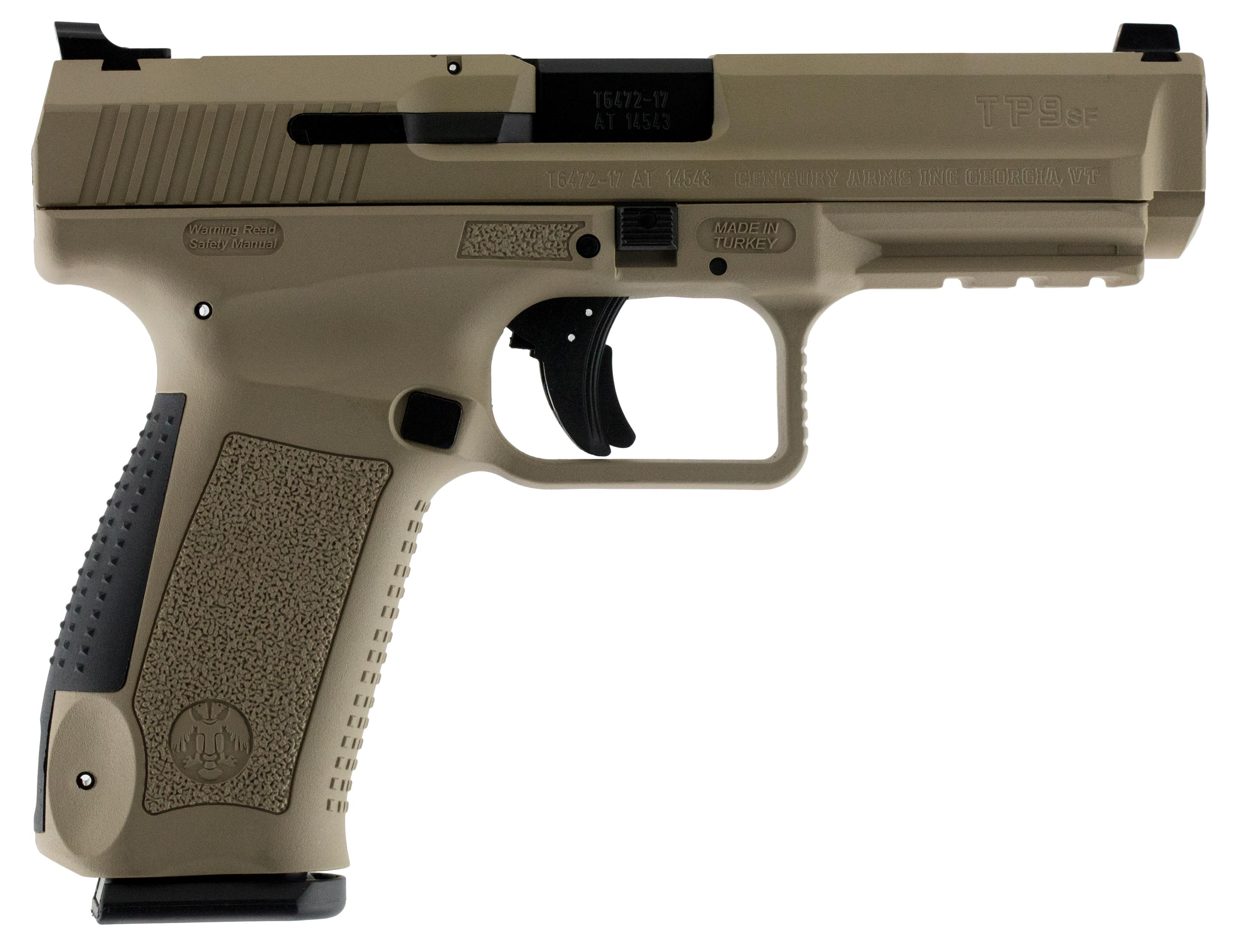 Century HG4070TN TP9SF Canik Single 9Mm Luger 4 46