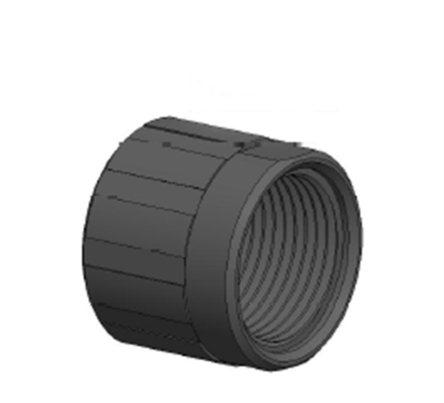 Picture of 1/2X28 Steel Threaded Barrel Protection Nut For The Rexzero1 Barrels