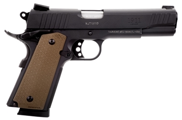 Picture of 1911 45Acp Blk/Fde Moe Grip 5""