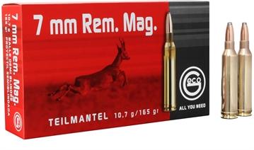 Picture of 251240020 Teilmantel Geco  7Mm Remington Magnum 165 GR Soft Point 20 Bx/10 CS