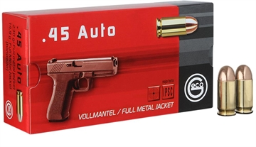 Picture of 271440050 Pistol Geco  45 Acp 230 GR Full Metal Jacket 50 Bx/ 20 CS