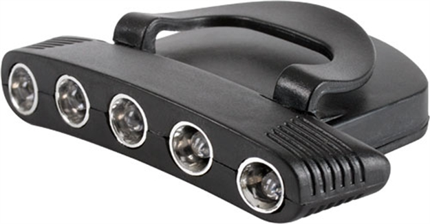Picture of 30-06 Outdoors Outdoors Cap Light Brite Trail White Led Black
