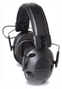 Picture of 3M Ear Muff Tactical 100 Electronic Black/Black 22 DB