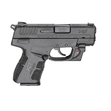 Picture of .45 Acp 3.3''  Black, Red Viridian~ Laser (W/2 Magazines)