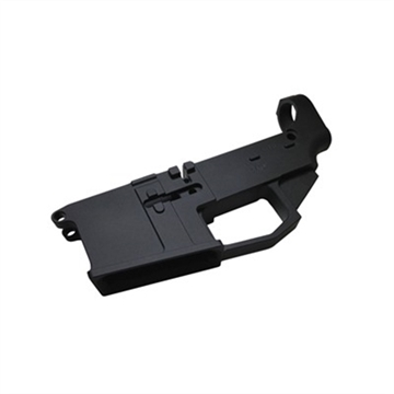 Picture of 6061 Ar-15 80% Lower Black Type Iii Anodized