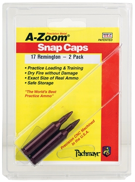 Picture of A-Zoom .17 Remington Snap Cap, 2 PK