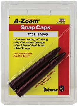 Picture of A-Zoom 12248 Snap Caps Rifle 375 H&H Magnum Aluminum 2