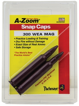 Picture of A-Zoom 12284 Snap Caps Rifle 300 Weatherby Magnum Aluminum 2
