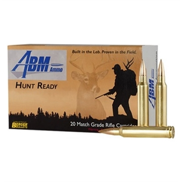Picture of Abm Hunt Ready 300 Win Mag 168Gr Berger Match Classic Hunter