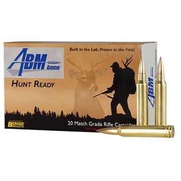 Picture of Abm Hunt Ready 300 Win Mag 185Gr Berger Match Classic Hunter